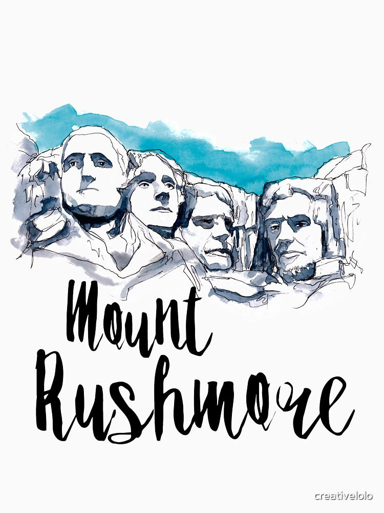 Mount Rushmore by creativelolo