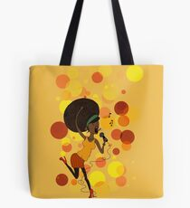 Funky Girl Tote Bag