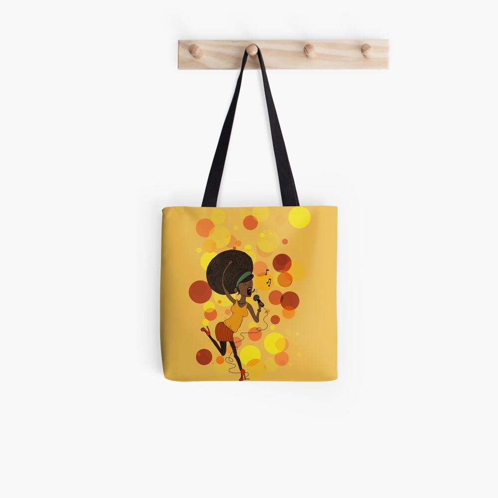 Funky Girl Tote Bag