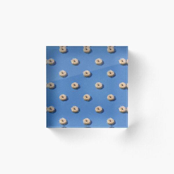 Donut Fun Acrylic Block