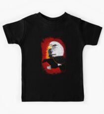 Eagle Native Art 2 Kids Tee