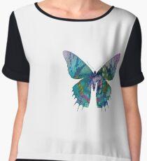 Butterfly Women's Chiffon Top