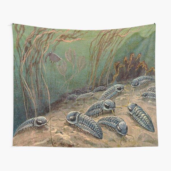 TRILOBITES MARINE DINOSAUR RETRO VINTAGE Tapestry
