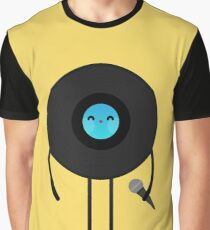 Pop Vinyl Disk Graphic T-Shirt