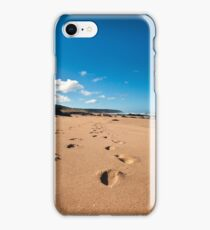 Leave Only Footprints Take Only Memories iPhone Case/Skin