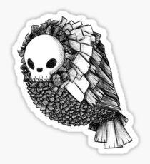 Skull Bird Sticker