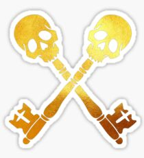 Death keys Sticker