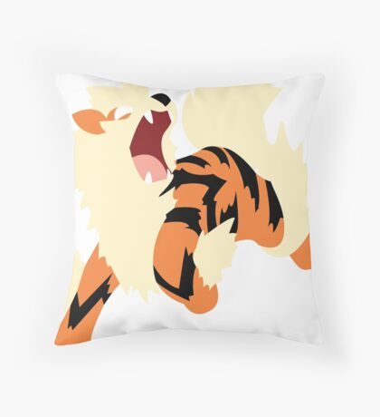 Arcanine Throw Pillow