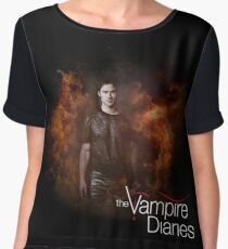 TVD - Damon Women's Chiffon Top