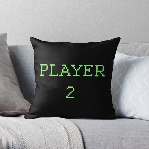 Player 2 Throw Pillow