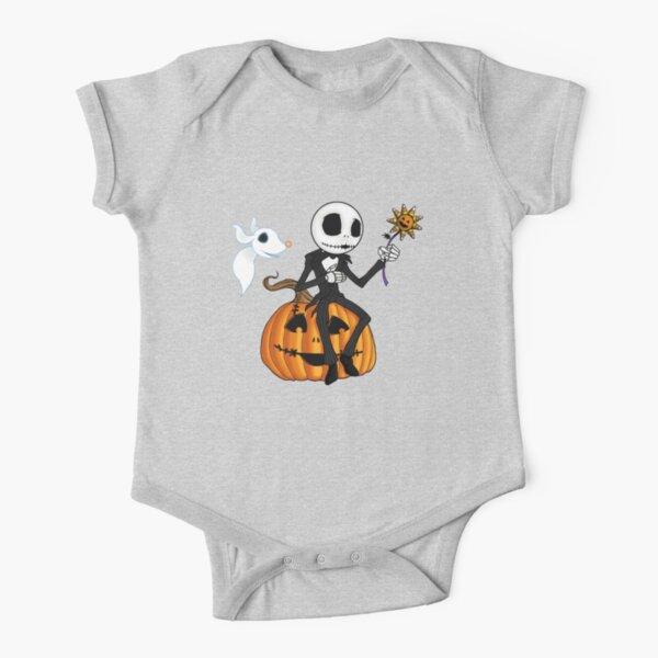Jack and Zero Short Sleeve Baby One-Piece
