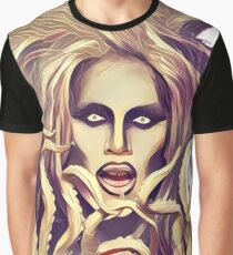 Sharon Needles with tentacles Graphic T-Shirt