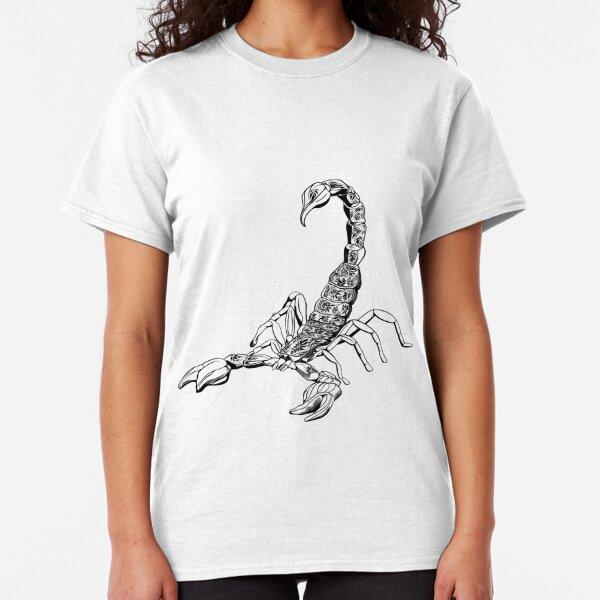 Black Scorpio  Classic T-Shirt