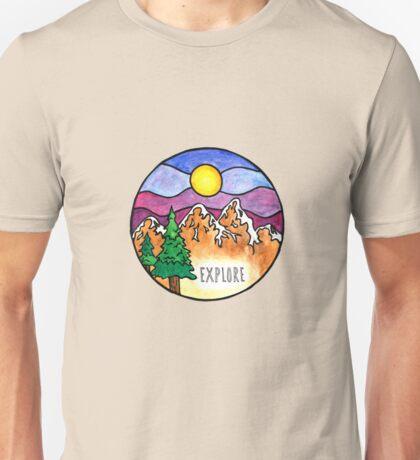 Explore the Outdoors  Unisex T-Shirt