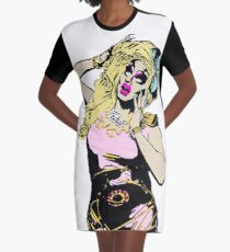 Trixie Mattel  Graphic T-Shirt Dress