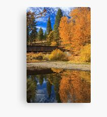 Bridge Over The Susan River Canvas Print