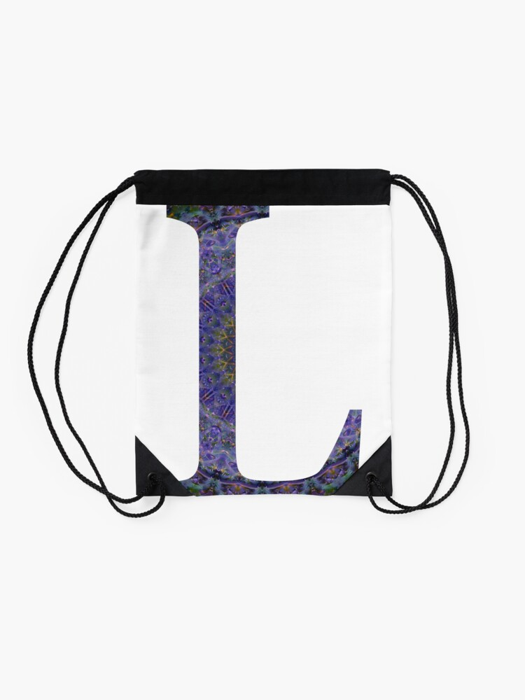 d4a075a8a54 Letter 'L' Purple Mandala 2