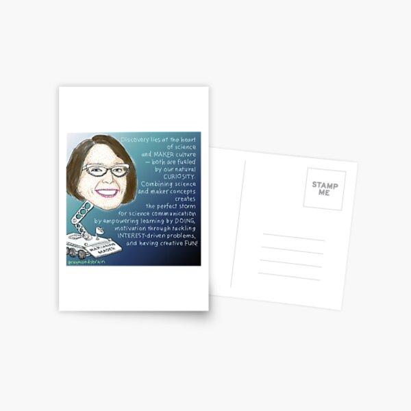 #SciComm100: Marianne Mader Postcard