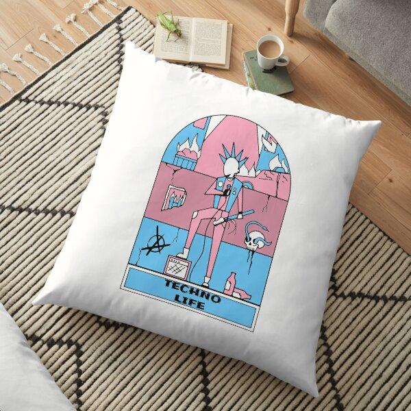 TechnoLife Punk Rock Floor Pillow