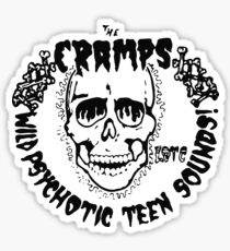 The Cramps Psychotic Teen Sounds Sticker