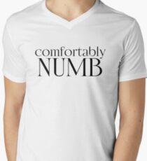 comfortably numb pink floyd psychedelic rock n roll lyrics song music hippie cool rocker t shirts T-Shirt