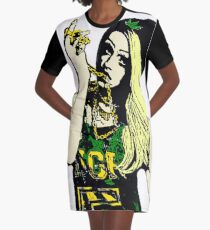 Laganja Estranja  Graphic T-Shirt Dress
