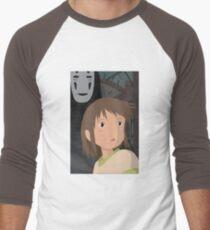 """""""Don't be such a scaredy cat, Chihiro"""" - Spirited Away Art Men's Baseball ¾ T-Shirt"""