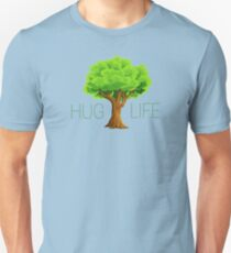 hug life tree hippie hippies inspirational natural green nature spiritual relaxning vegetarian vege t shirts T-Shirt