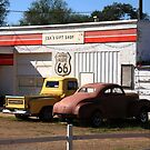 Route 66 Shop by Frank Romeo