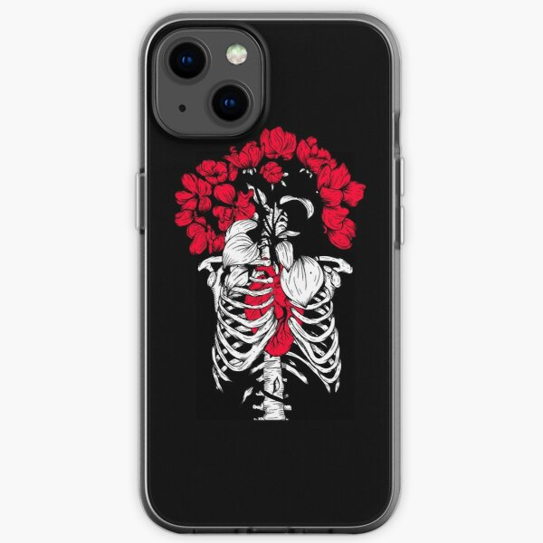 Blood Red Heart 29 iPhone Soft Case