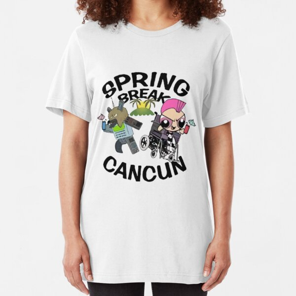 [VINTAGE] Spring Break 2003 Slim Fit T-Shirt