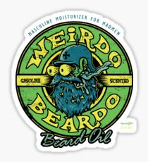 Weirdo Beardo Sticker
