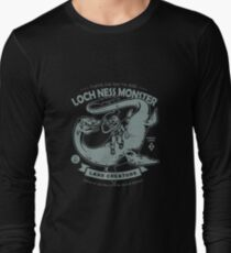 Lochness Monster - Cryptids Club Case file #200 Long Sleeve T-Shirt