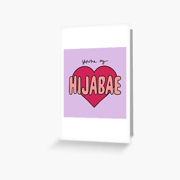 HIJABAE Greeting Card