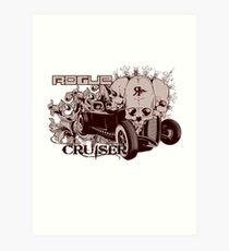 ROGUE CRUISER Art Print