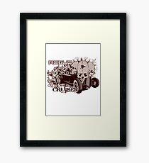 ROGUE CRUISER Framed Print