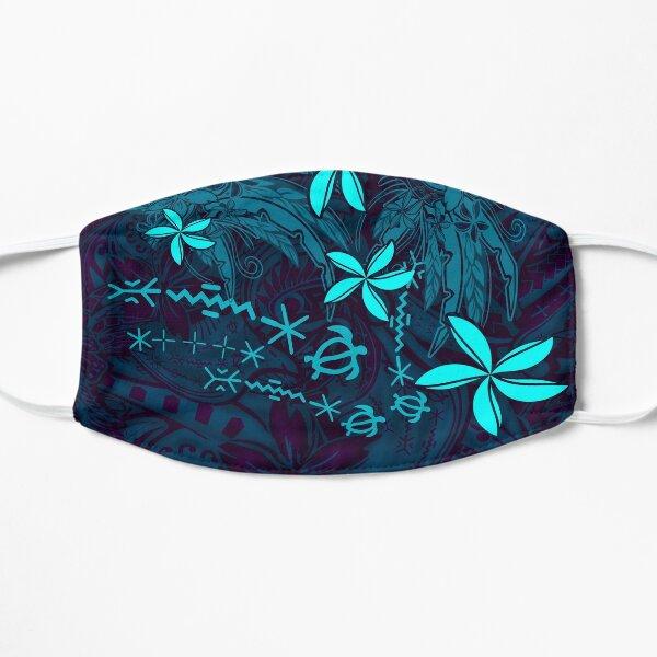 Polynesian Tribal Tropical Abstract Flat Mask