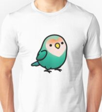 Chubby Dutch Blue Peach-faced Lovebird T-Shirt