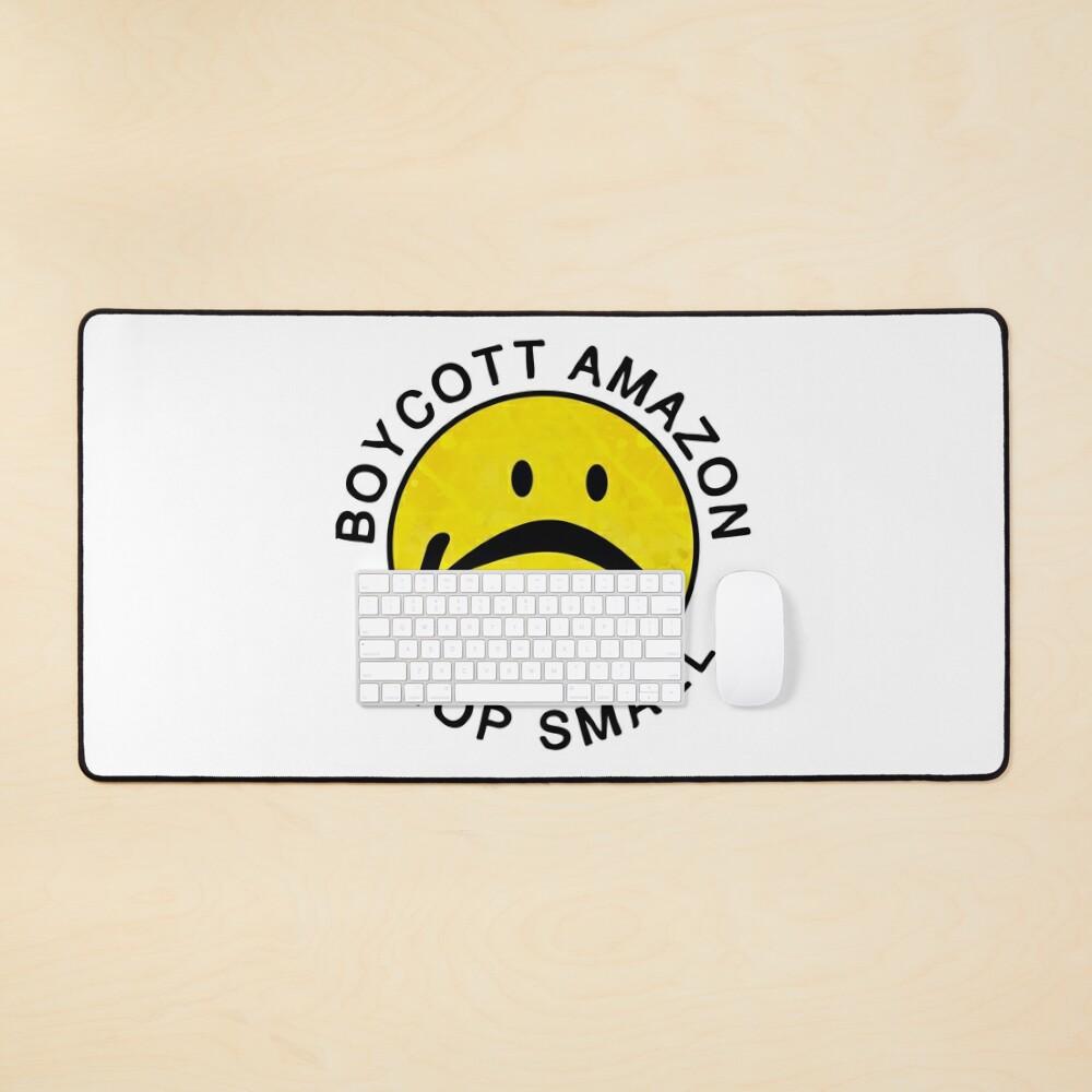 boycott amazon, shop small Mouse Pad