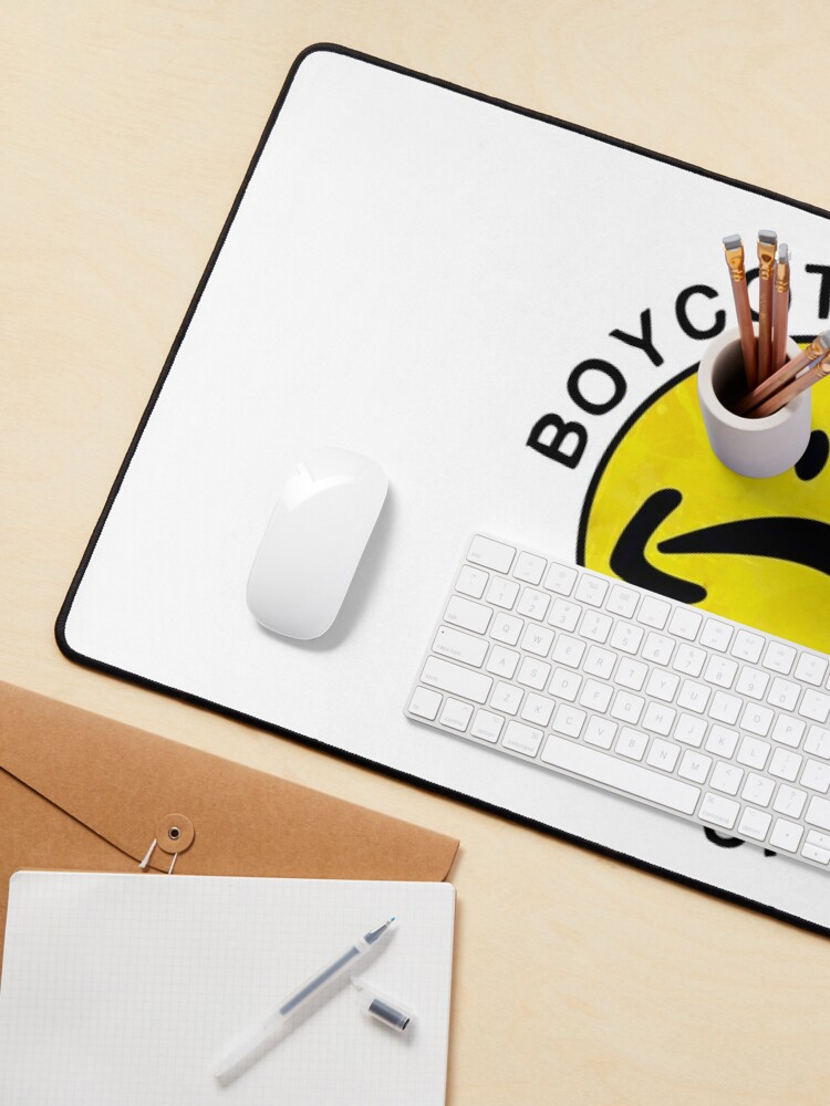Alternate view of boycott amazon, shop small Mouse Pad