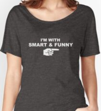 My girlfriend is smart & funny Women's Relaxed Fit T-Shirt