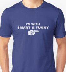 My girlfriend is smart & funny T-Shirt
