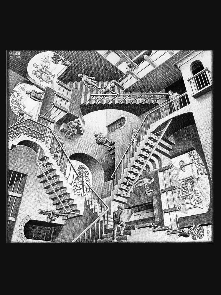 MC Escher by moviesncartoons