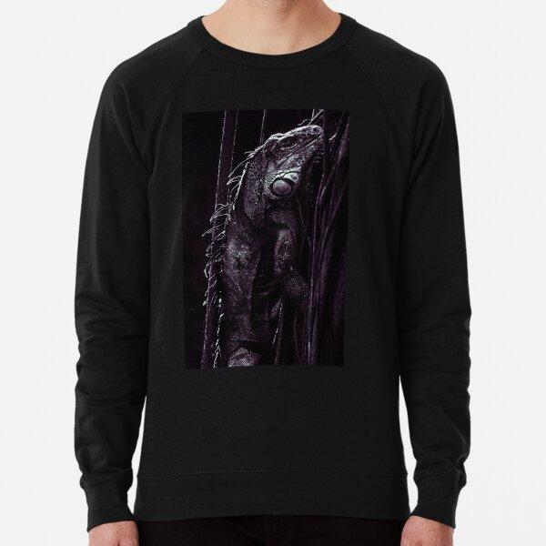 Black Ctenosaur Lightweight Sweatshirt