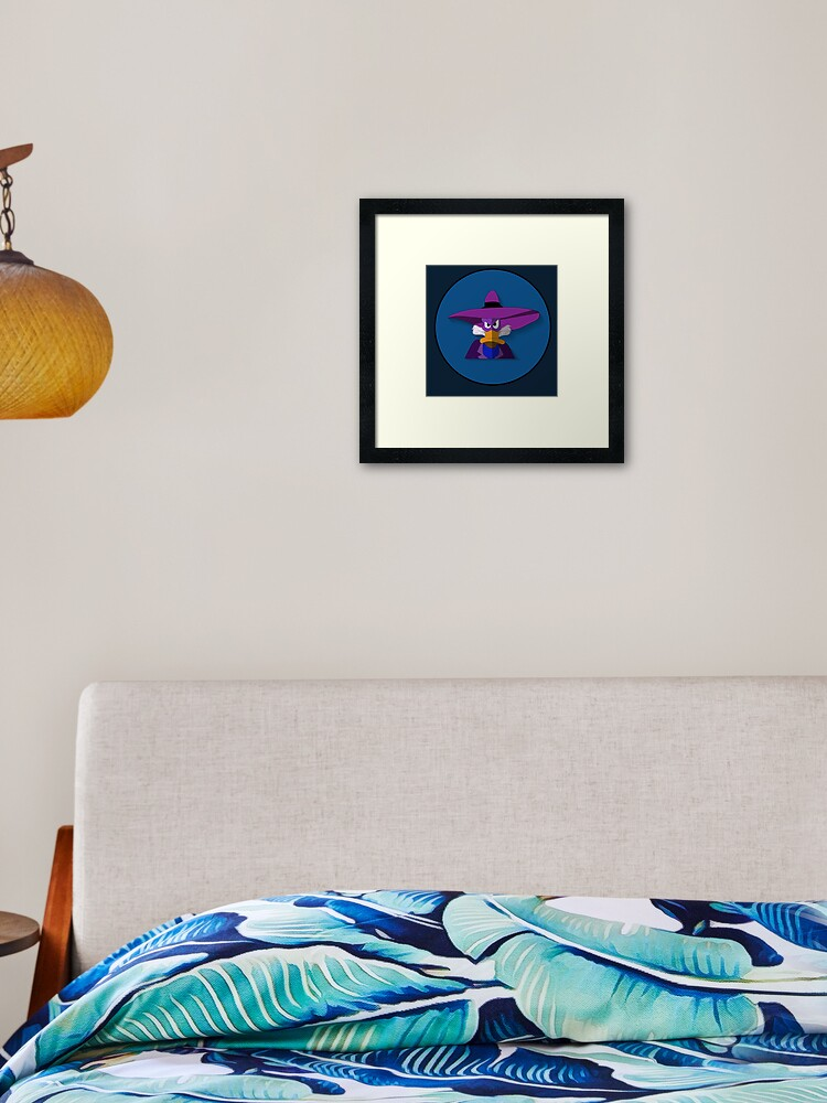 Darkwing Duck Custom Personalized Wall Decor Art Poster Print