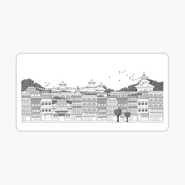 Kathmandu Sticker