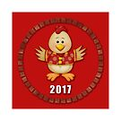 Year of The Rooster 2017 by ChineseZodiac