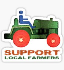 Support Local Farmers Sticker