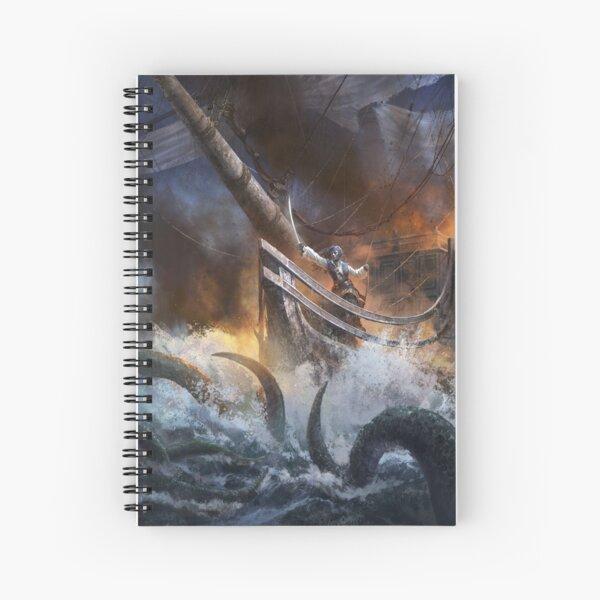 Core Rulebook: Kraken Spiral Notebook