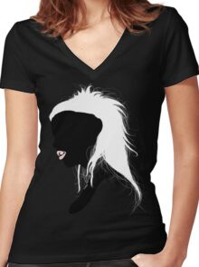 Queen of RATS Women's Fitted V-Neck T-Shirt